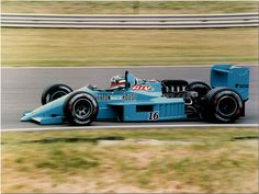 Ivan Capelli Leyton House March 871 1987 British GP Silverstone by Antsphoto, via Flickr