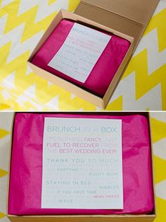 Brunch in a Box