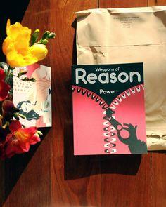 a caixa de correio no dia internacional da Mulher  @weaponsofreason