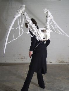 Mechanical wings by Michelle Reader