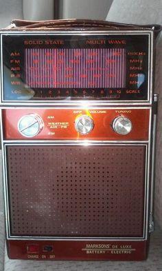 Marksons Multi Band Transistor Radio