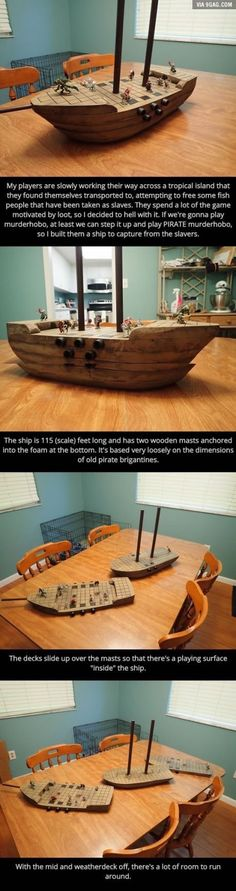 A guy made a Dungeons & Dragons pirate ship Dungeons And Dragons Memes, Dungeons And Dragons Homebrew, Tabletop Rpg, Tabletop Games, Game Master, Deco Pirate, Tenacious D, Dnd Stories, Dnd Funny