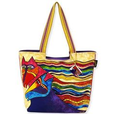 ColorfulCritters - Laurel Burch Wind Spirit Scoop Tote Bag LB5281, $34.99 (http://www.colorfulcritters.com/laurel-burch-wind-spirit-scoop-tote-bag-lb5281/)