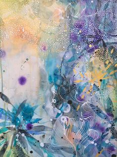 """Fantastic """"contemporary abstract art painting"""" detail is available on our website. Have a look and you will not be sorry you did. Contemporary Abstract Art, Modern Art, Contemporary Artists, Multiple Canvas Art, Abstract Watercolor, Painting Abstract, Watercolor Tattoos, Abstract Portrait, Hanging Art"""