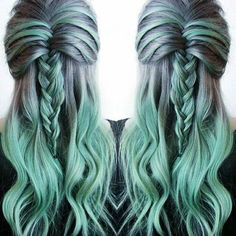 I'm doing this when I'm older and my hair is all grey