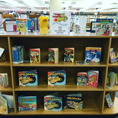 Stop by for some Magic School Bus books!
