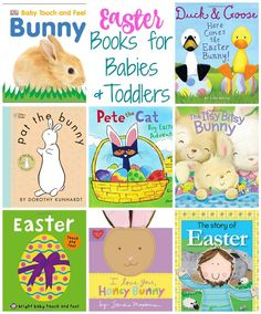 Easter Books for Babies & Toddlers || The Chirping Moms