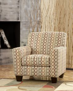 Figure Eight Candy Accent Chair