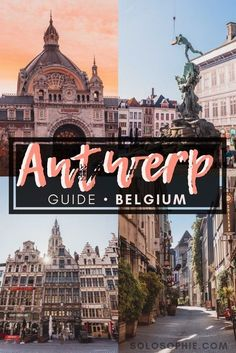 One Day in Antwerp Itinerary: Best Things to do in Antwerp Antwerp travel guide: Here are the best things to do in the Northern Belgian city of Antwerp (also Antwerpen/ Anvers). Attractions to visit, where to stay, what you must eat and more! Europe Travel Guide, Travel Guides, Travel Destinations, Travelling Europe, Germany Destinations, Traveling, Travel List, European Destination, European Travel