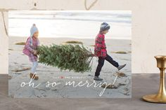 Oh Happy Day Holiday Photo Cards by Design Lotus at minted.com