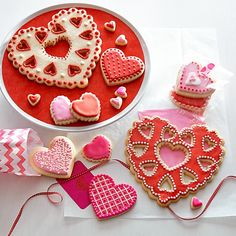 Giant valentine cookie cutter with heart cutouts - want this!!