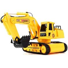 R/C Excavator Tracked Full Function 1/24 Scale Realistic Construction Equipment #Working