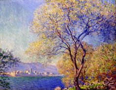 Antibes Seen from the Salis Gardens 01, 1888 Claude Monet