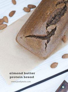 paleo almond butter nut bread - purelytwins