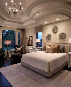 Incorporating curves in the ceiling as well as exterior