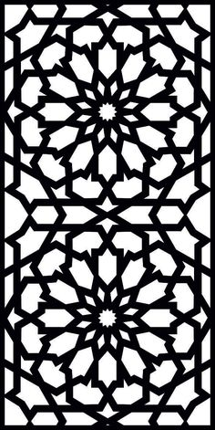 DXF CDR File For CNC Plasma Laser Cut Doors all design good quality and tested at cnc) - Laser Cut Patterns, Stencil Patterns, Stencil Art, Stencil Designs, Pattern Art, Stencils, Islamic Art Pattern, Arabic Pattern, Motifs Islamiques