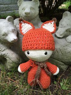 Ravelry: sandyeggers02's Fox Big Head Baby Doll