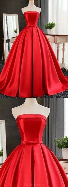 Prom Dresses Red #PromDressesRed, Prom Dresses Ball Gown #PromDressesBallGown