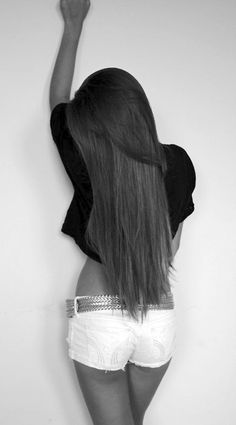 long hair, long layers