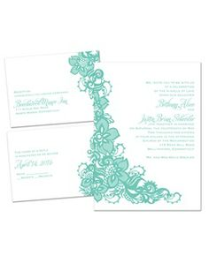 69 best wedding invitation ideas images on pinterest invitations a large band of intricate lace sweeps beside your wording on this very affordable 3 fandeluxe Image collections
