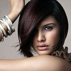 My next cut AND color. I love the shape of this cut, and how warm the color looks.