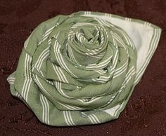 Flower from old tie