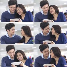 """""""JADINE'S NEW FIRST [EXCLUSIVE] from VIVA Entertainment James & Nadine finally found someone they can lean on and someone who puts them first! Sino kaya?…"""""""