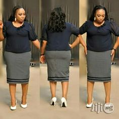 New arrivals of turkey wears from Vickrich Collections. all available in sizes. we deliver nationwide. no payment on delivery outside lagos. African Dresses For Women, African Wear, African Fashion Dresses, Office Attire, Office Wear, Sexy Outfits, Dress Outfits, Broken Hearted, Big Girl Fashion
