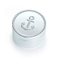Tiffany Sailor Box in sterling silver.