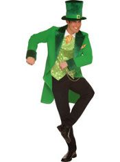 4 clovers and leprechaun costume party