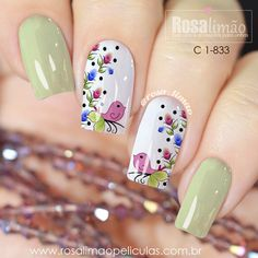 We have combined the most fashionable nail designs for you. If you want to have very nice quotes this summer, you should definitely look at these models. you are sure that one of these models is your style! Great Nails, Fabulous Nails, Gorgeous Nails, Love Nails, My Nails, French Acrylic Nails, Best Acrylic Nails, Maybelline Nail Polish, Floral Nail Art