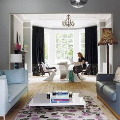 Victorian Living Room Interior Design Luxury Exceptional Decorating Idea to Living Rooms Plus Modern Rooms Media Victorian Living Room, Elegant Living Room, Cozy Living Rooms, New Living Room, Living Room Modern, Living Room Decor, Modern Victorian, Dining Rooms, Dining Table