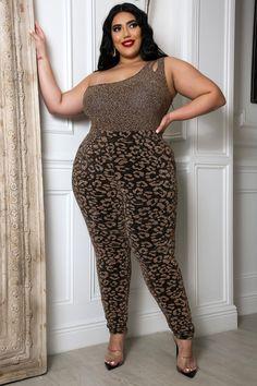 Classy But Sassy Bodysuit Pant Set GitiOnline Curvy Women Fashion, Womens Fashion, Plus Size Two Piece, Trendy Plus Size Fashion, Modelos Plus Size, Chubby Girl, Classy Outfits, Classy Clothes, Bodysuit