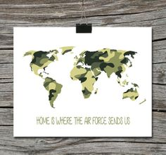 Instant download world map travel quote poster travel is the world map travel quote poster home is where the navy air force marines army military gumiabroncs Choice Image