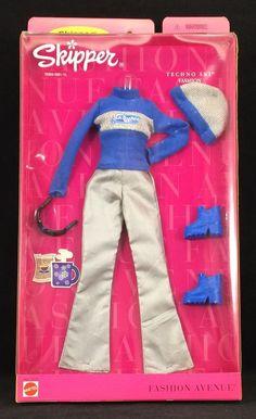 Barbie 90s, Barbie Doll Set, Barbie Skipper, Barbie World, Barbie Dress, Barbie Outfits, Ski Fashion, Teen Fashion, Fashion Dolls