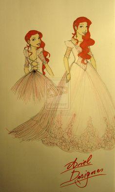 Ariel - Disney Designer by ~BlueHydrangea on deviantART