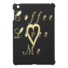 "Coffee love me. Coffee love me. #Golden #red #Ilove #coffee coffee #loves #me #iPad #mini #cover"" #animalsafaris #posted this to iPad #air #cases iPad air #Covers"