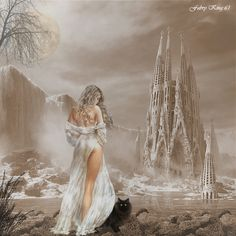 pictures from Luis Royo deviantart | LUIS ROYO-BARCELLONA GOTHIC FANTASY by FABRYKING61