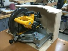 Compound Miter Saw Dust Collector Hood.