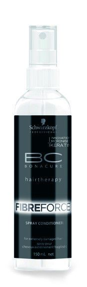 Schwarzkopf Bonacure BC FIBRE FORCE SPRAY CONDITIONER 5.1 oz / 150 ml Leave-in  #Schwarzkopf