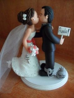 Pin by Wedding Estates on Wedding Cake Toppers in 2019 Wedding Couples, Our Wedding, Dream Wedding, Wedding Cake Toppers, Wedding Cakes, Wedding Favors, Wedding Decorations, Wedding Gifts, Fancy Cakes