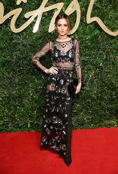 See All the Gorgeous Looks From the British Fashion Awards via @WhoWhatWear
