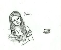 Once Upon A Time - Belle by ~LunaHermione on deviantART