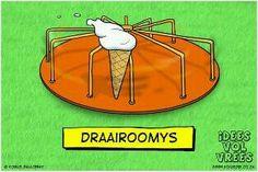 Draairoomys  Idees vol vrees  #afrikaans#humor#grappe