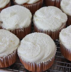 Bowen Close steeps Thai tea in a mixture of milk and sweet condensed milk to make a delicious cupcake.