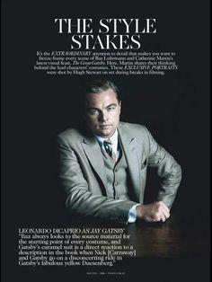 Leo DiCaprio as Jaye Gatsby