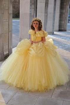 Disney belle costume belle dress beauty and the beast dress etsy. Beauty And The Beast Wedding Dresses, Beauty And The Beast Dress, Disney Beauty And The Beast, Disney Belle Costume, Fantasias Halloween, Disney Princess Dresses, Belle Dress, Little Princess, Ball Gowns
