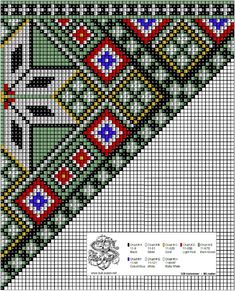 Loom Patterns, Beading Patterns, Cross Stitch Designs, Cross Stitch Patterns, Beads Pictures, Sampler Quilts, Charts And Graphs, Chart Design, Tapestry Crochet