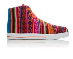 Inkkas sneakers with Peruvian fabric