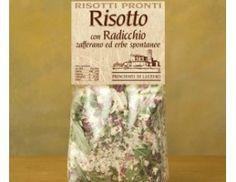 A great Carnaroli rice, radicchio and saffron pistils